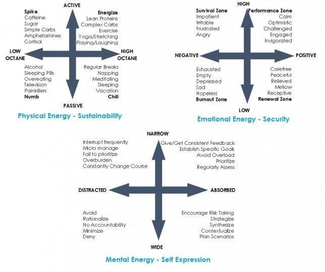 Energy Quadrants - Schwartz