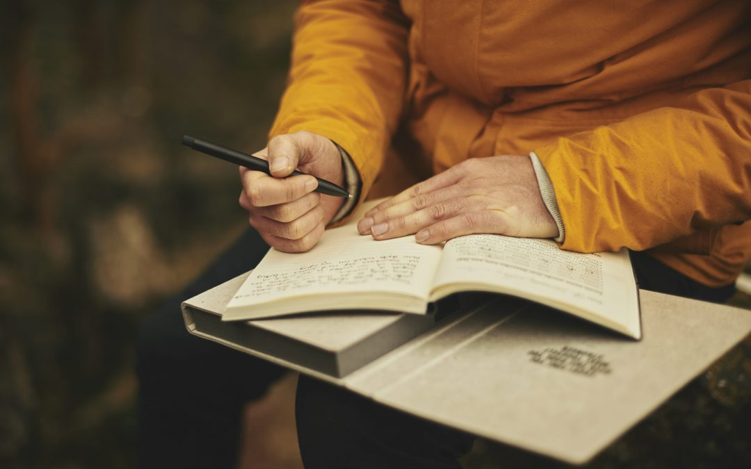 Keeping a journal reduces stress